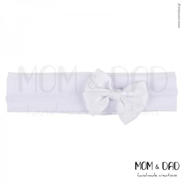 Κορδέλα Μαλλιών Μπεμπέ Mom & Dad 57011312