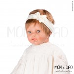 Κορδέλα Μαλλιών Μπεμπέ Mom & Dad 57011313